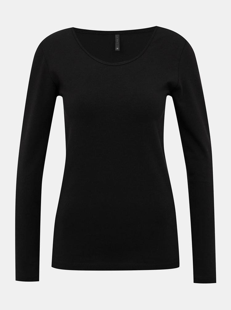 Černé basic tričko ONLY Live