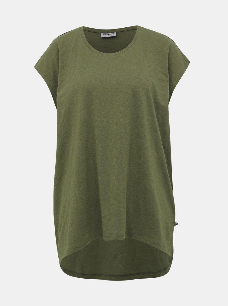 Khaki basic tričko Noisy May Mathilde