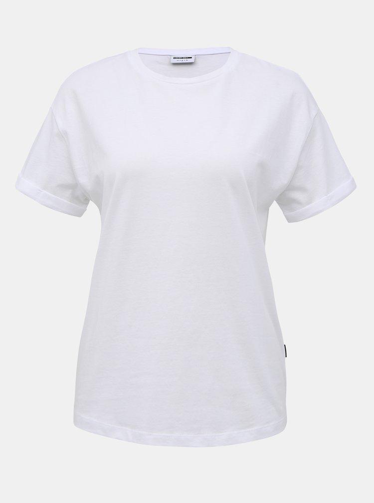 Bílé basic tričko Noisy May Brandy