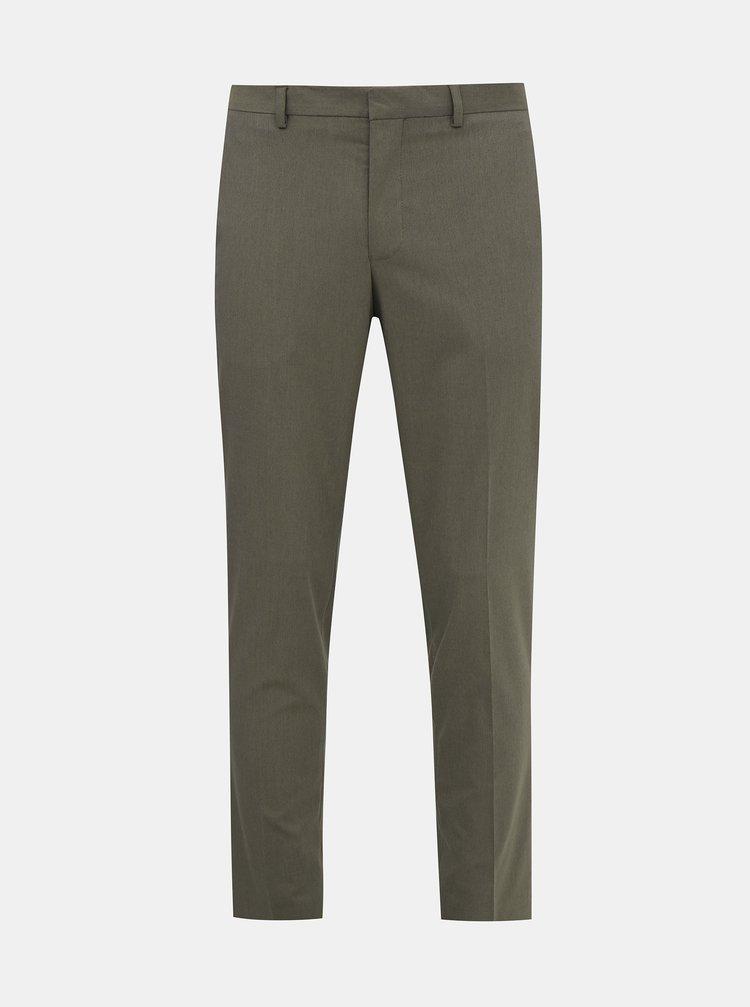 Šedé oblekové nohavice Selected Homme Logan