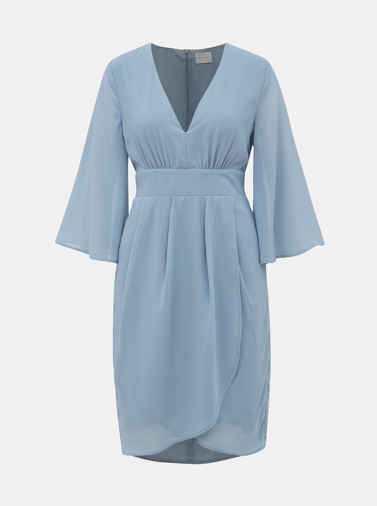 Světle modré šaty VILA Micada
