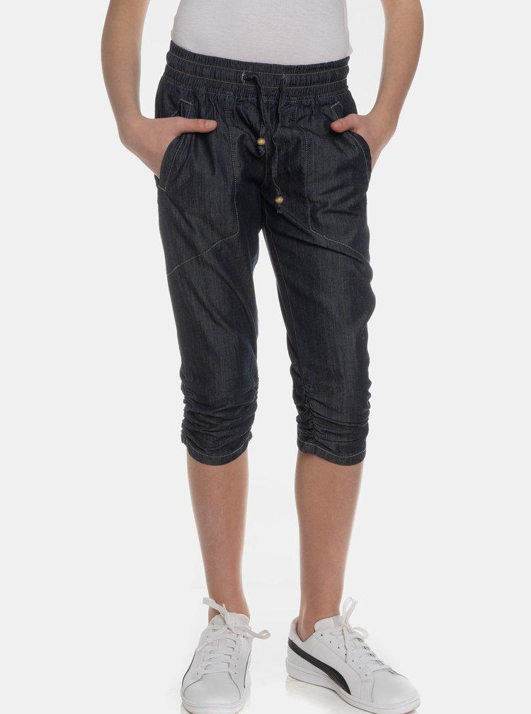 Tmavě modré holčičí 3/4 kalhoty SAM 73