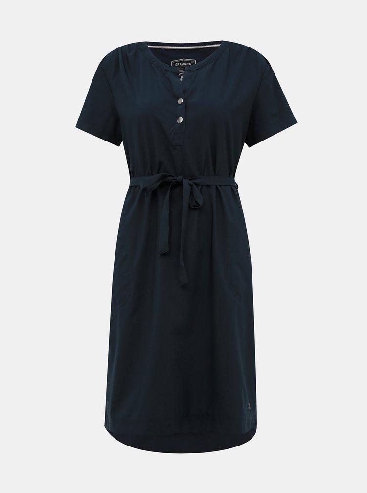 Tmavomodré šaty killtec Ebba