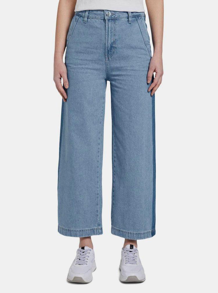 Světle modré dámské džínové culottes Tom Tailor Denim
