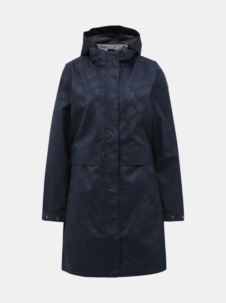 Tmavě modrý dámský lehký  softshellový kabát killtec Marcellia