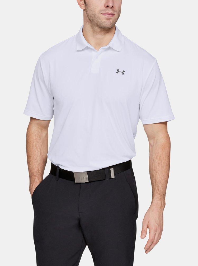Bílé pánské polo tričko Performance Under Armour