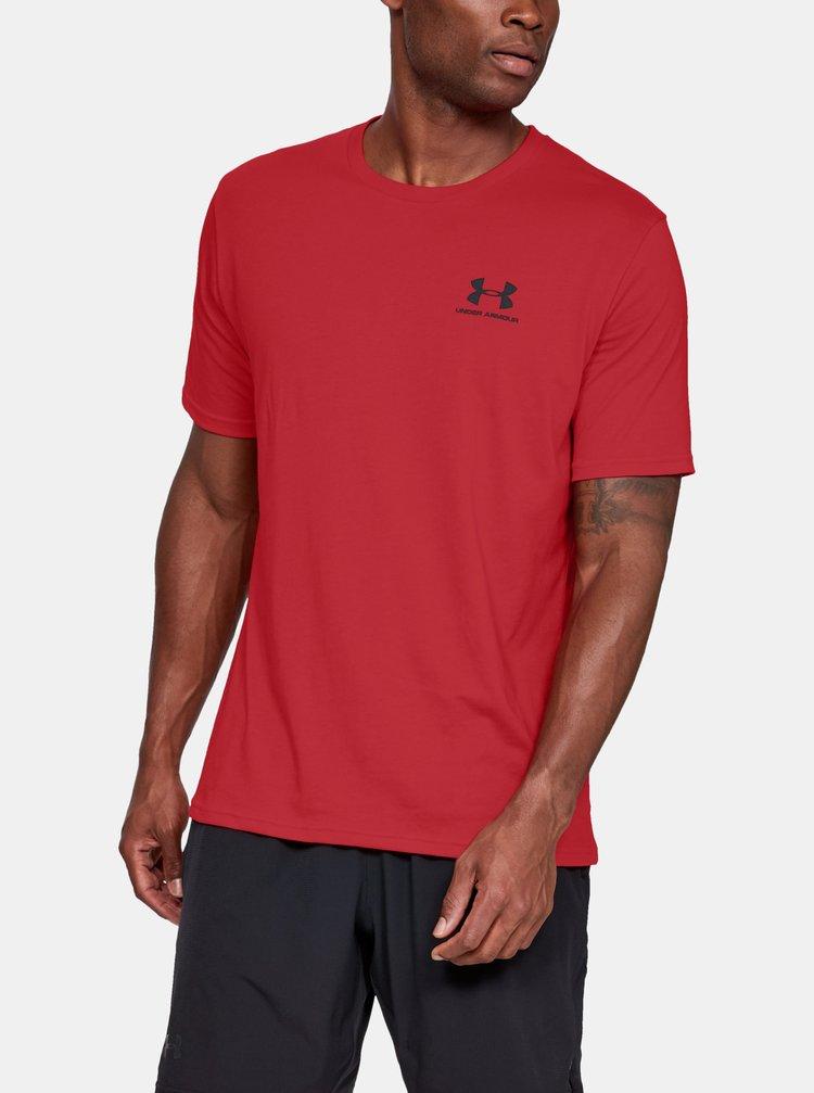 Červené pánské tričko Under Armour
