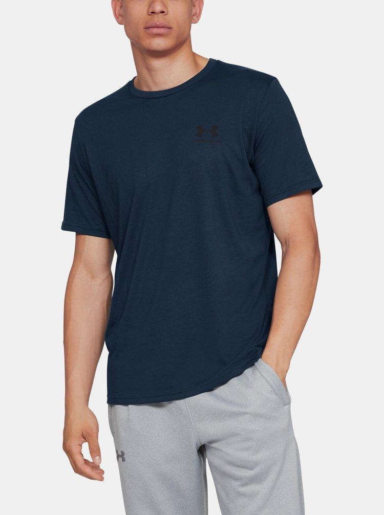 Modré pánske tričko Under Armour