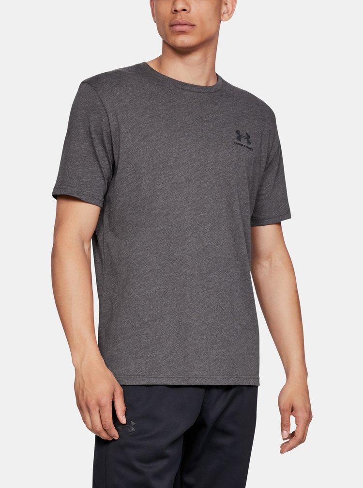 Šedé pánské tričko Under Armour