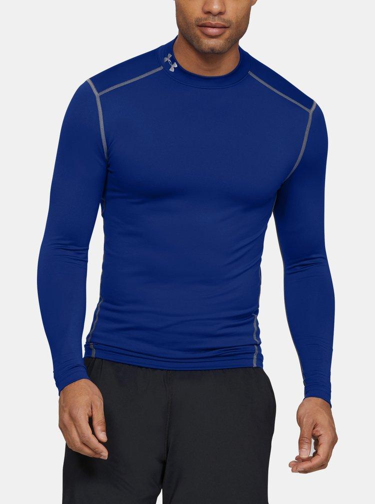 Tmavě modré pánské tričko Mock Under Armour