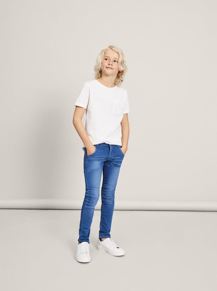 Modré klučičí slim fit džíny name it Clas