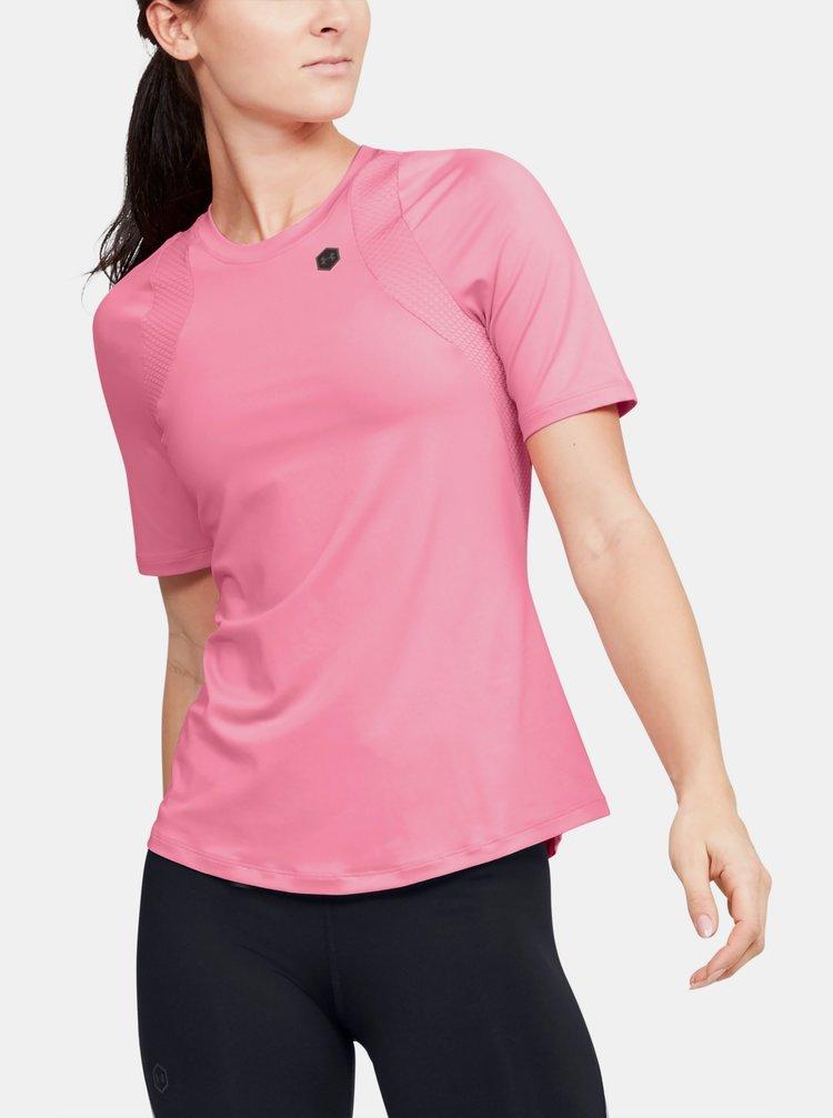 Ružové dámske tričko Rush Under Armour