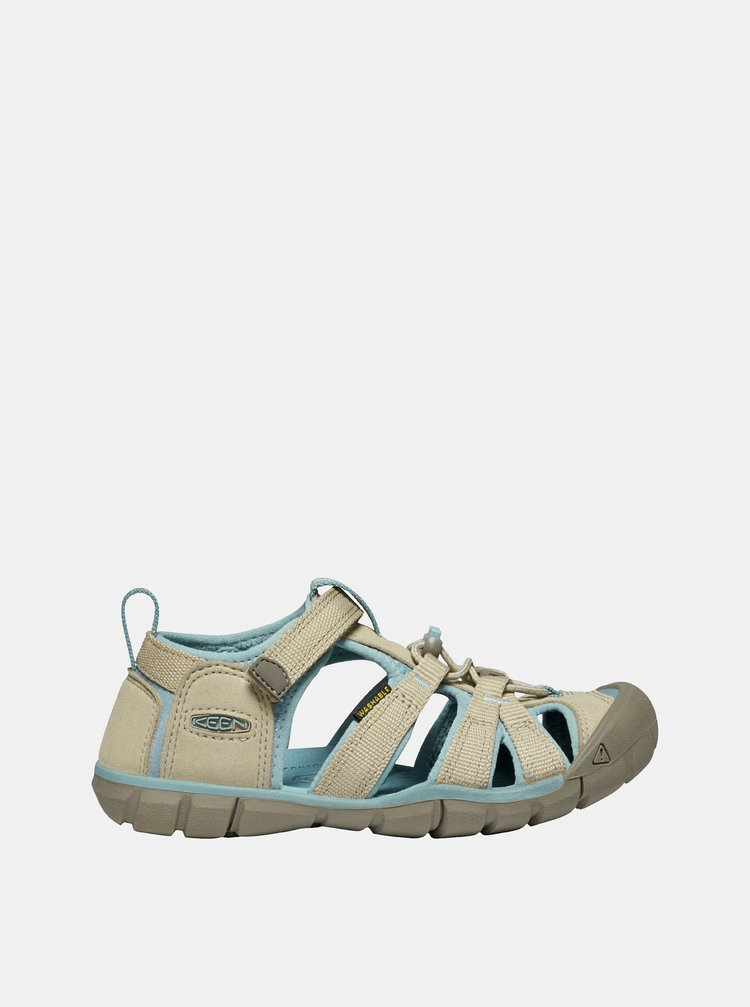 Béžové dětské sandály Keen Seacamp II CNX Y