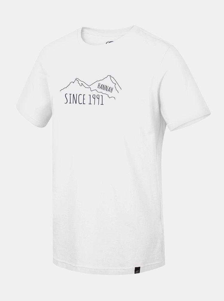 Šedé pánske tričko s potlačou Hannah Matar