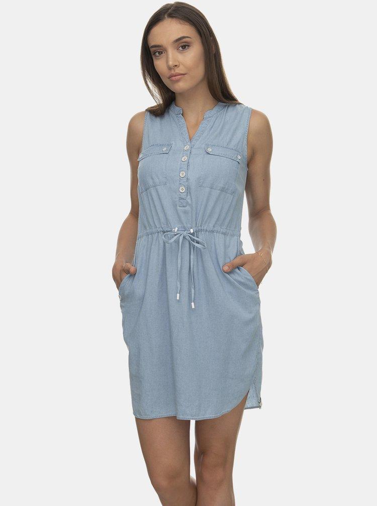 Svetlomodré šaty Ragwear
