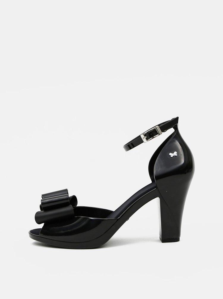 Černé dámské sandálky Zaxy