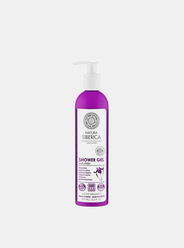 Sprchový gel pro pružnou pleť Anti-stress 400 ml Natura Siberica