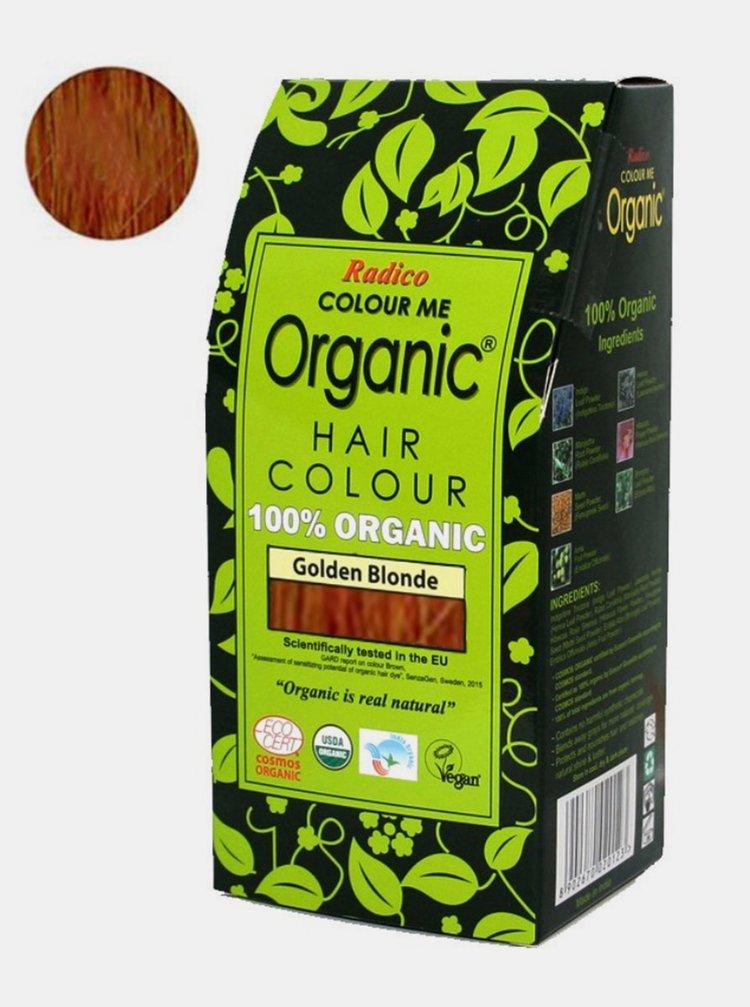 Přírodní barva na vlasy BIO - zlatá blond 100 g Radico