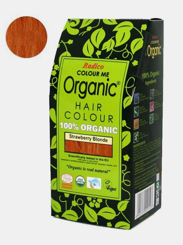 Přírodní barva na vlasy BIO - jahodová blond 100 g Radico