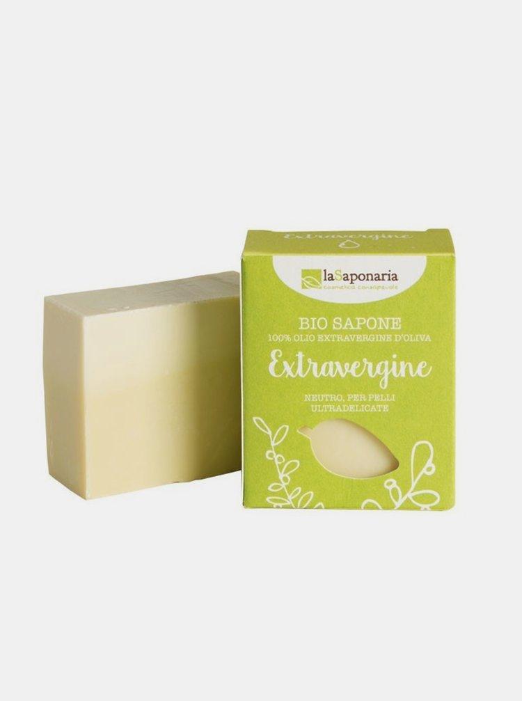 Tuhé olivové mýdlo BIO - Neutrální 100 g laSaponaria
