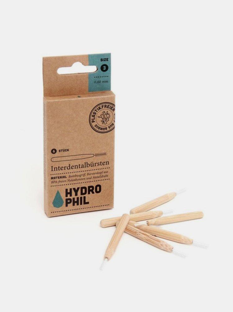 Bambusový mezizubní kartáček - 0,60 mm 6 ks Hydrophil