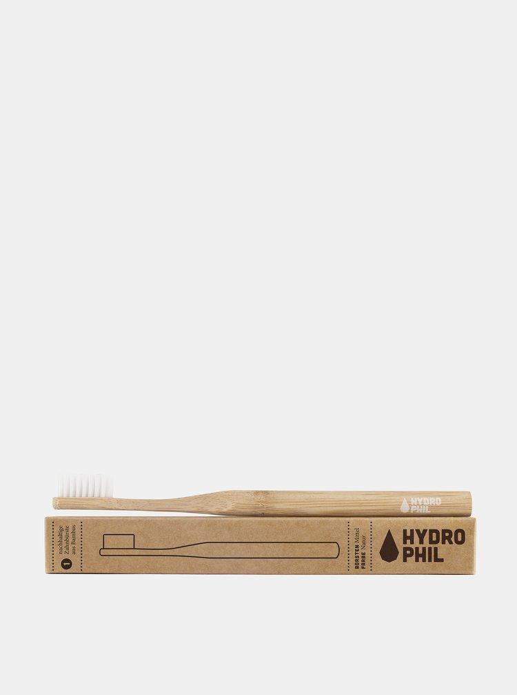 Bambusový kartáček (medium) - natural Hydrophil