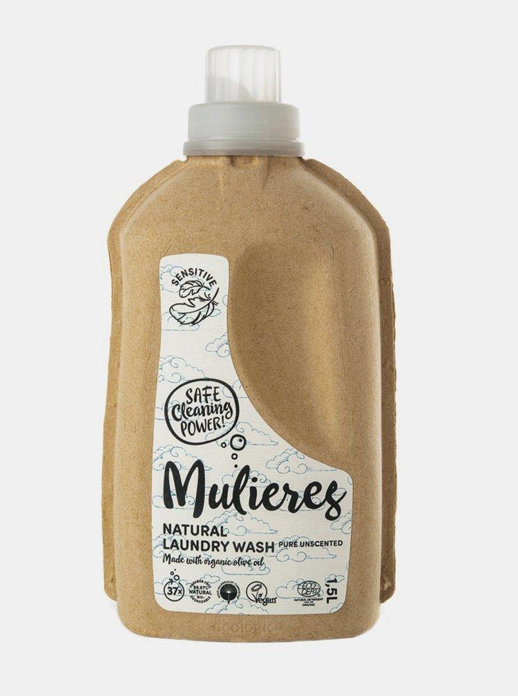 Koncentrovaný prací gel - bez vůně 1500 ml Mulieres