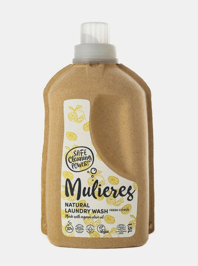 Koncentrovaný prací gel - svěží citrus 1500 ml Mulieres