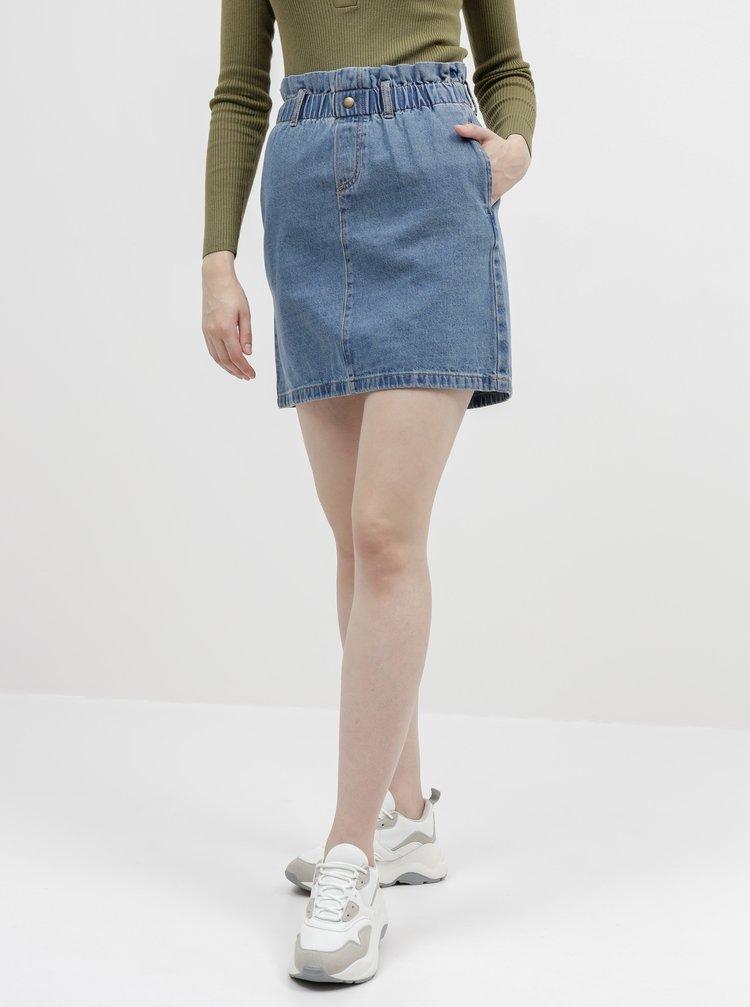 Modrá džínová sukně Noisy May Judo
