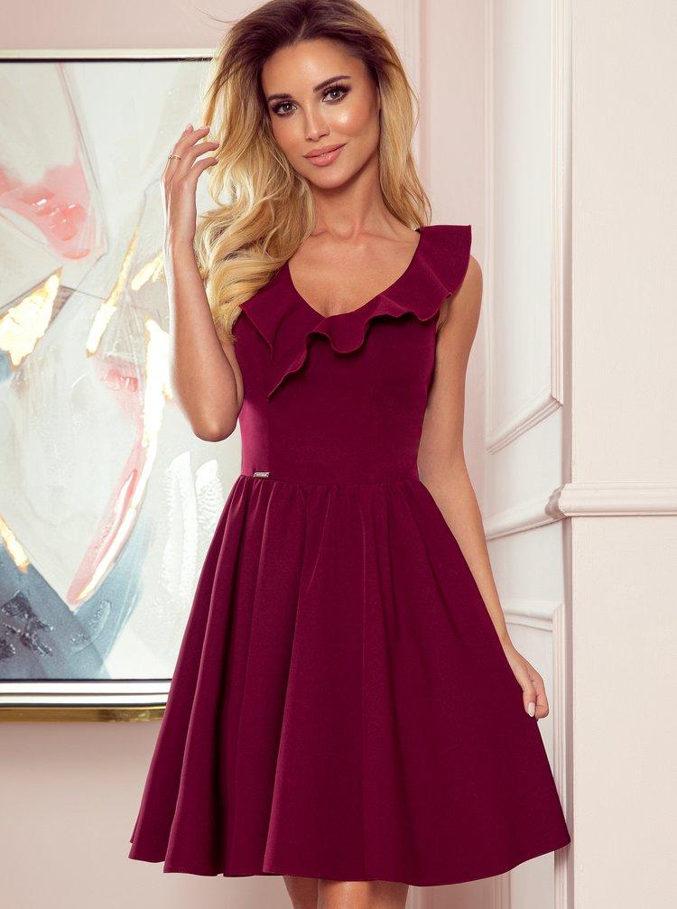 Vínové šaty Numoco