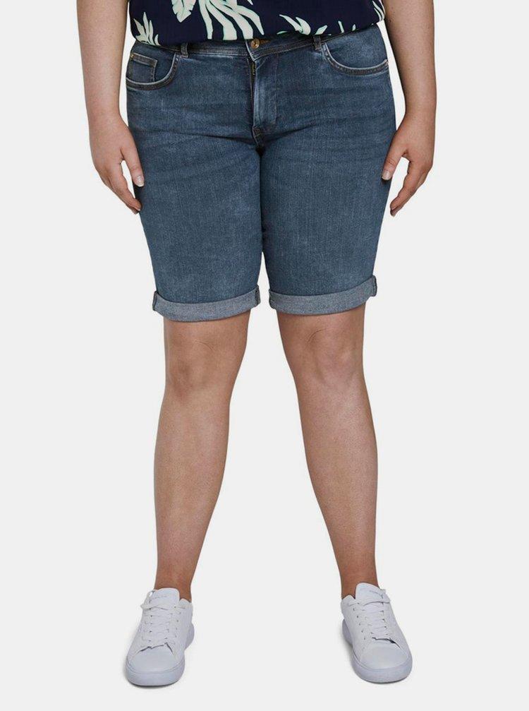 Modré dámské džínové kraťasy My True Me Tom Tailor