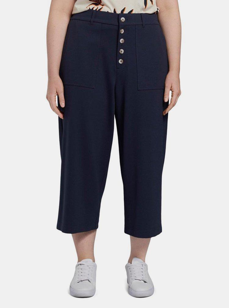 Tmavě modré dámské culottes My True Me Tom Tailor