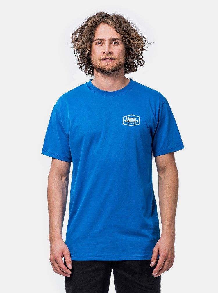 Modré pánské tričko Horsefeathers