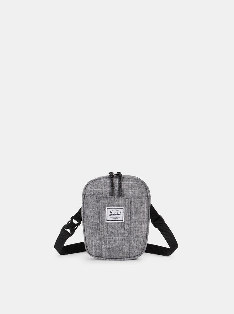 Šedá crossbody taška Herschel Supply Cruz