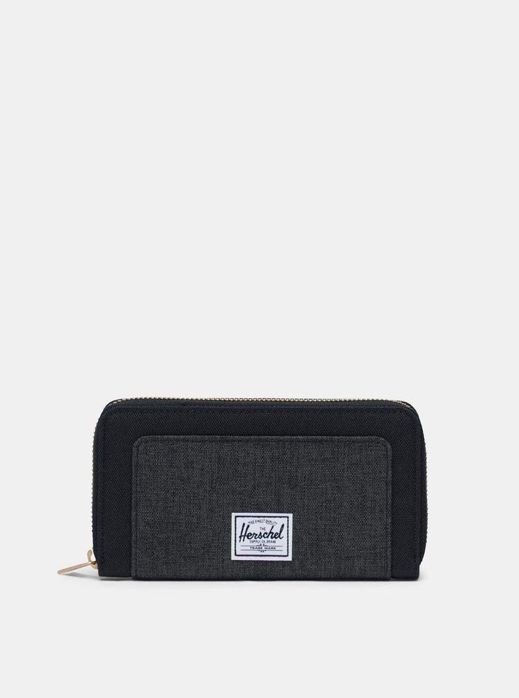 Černá peněženka Herschel Supply Thomas