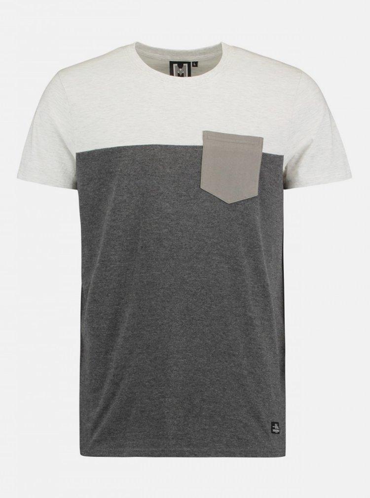 Šedé pánské tričko Haily´s Kyle