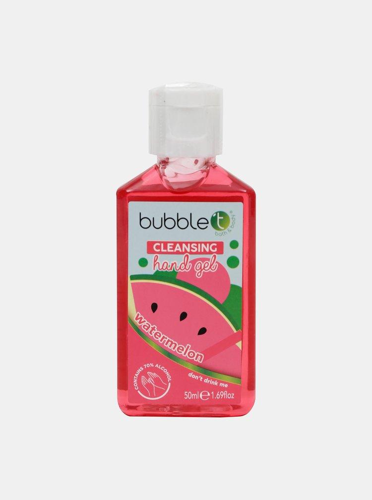 Antibakteriální gel na ruce (70% alkoholu) Bubble T Cosmetics Watermelon 50 ml