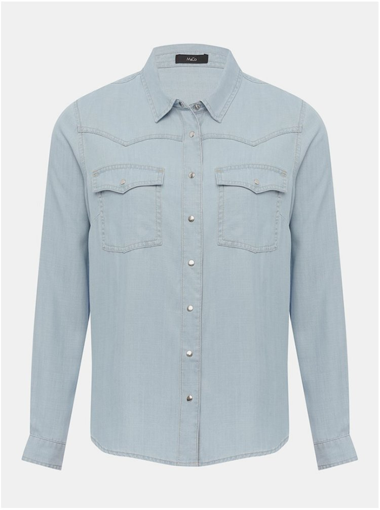 Světle modrá džínová košile M&Co