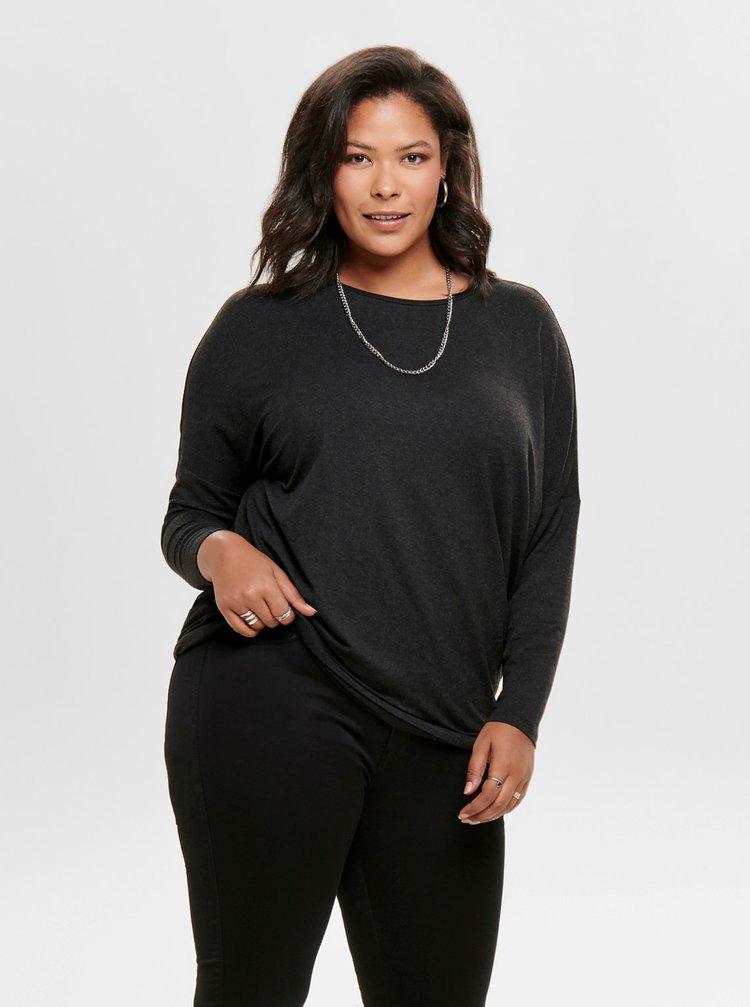 Čierny ľahký sveter ONLY CARMAKOMA