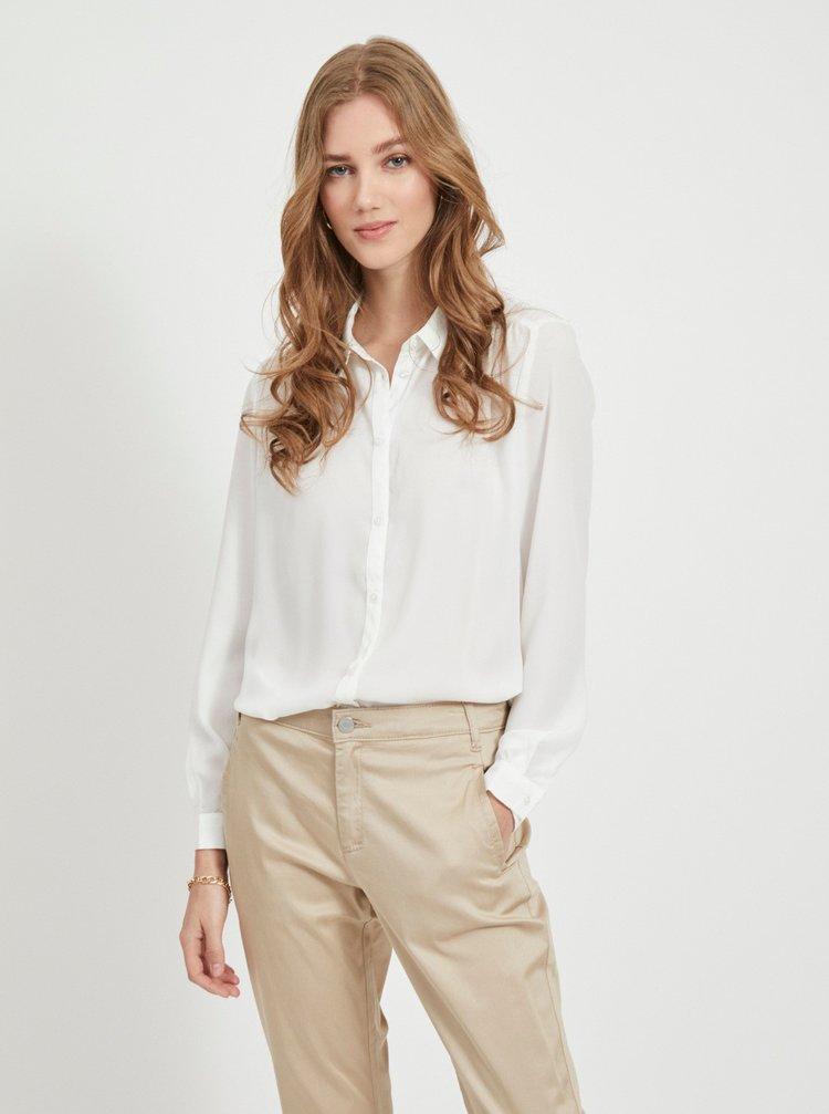 Bílá košile VILA Lucy