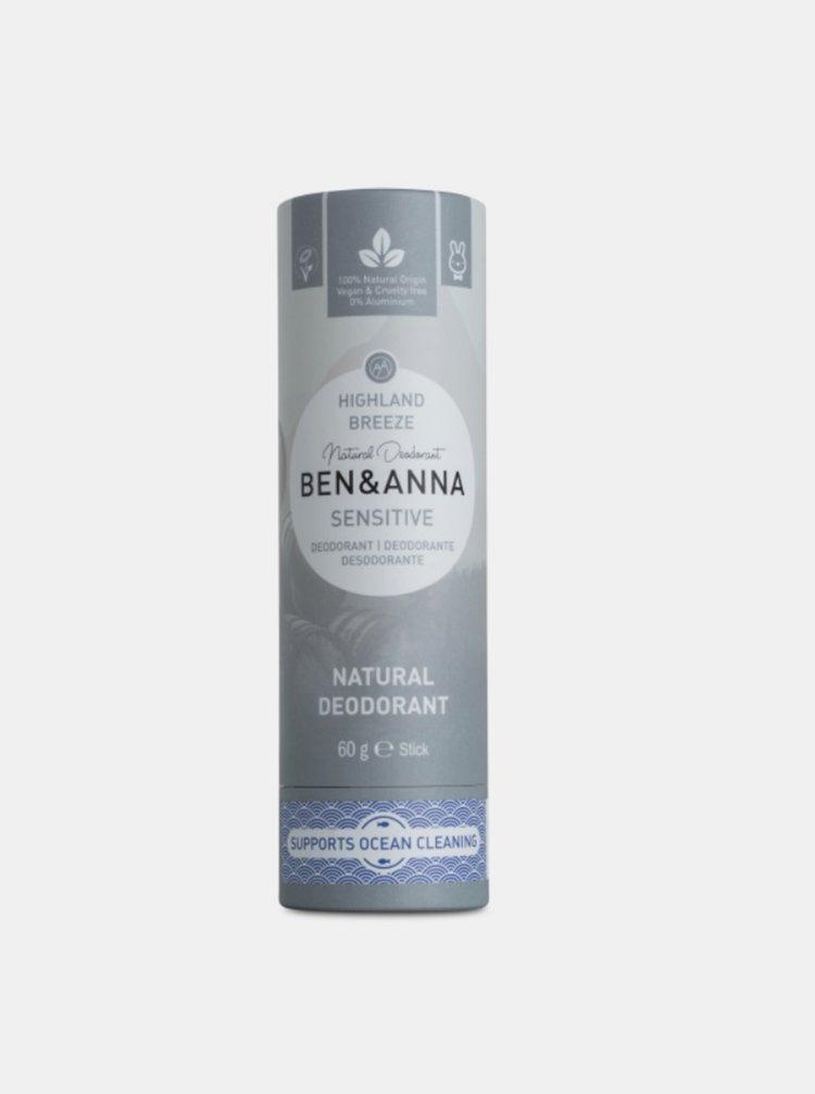 Tuhý deodorant Sensitive BIO - Horský vánek 60 g Ben & Anna