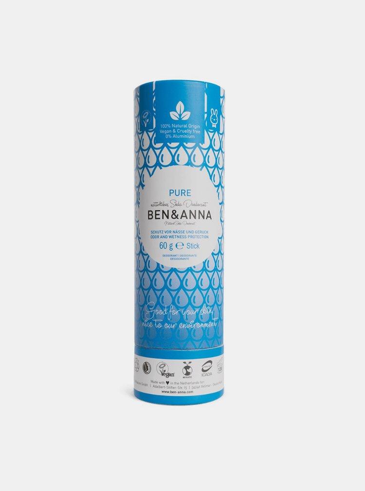 Tuhý deodorant BIO - bez vůně 60 g Ben & Anna