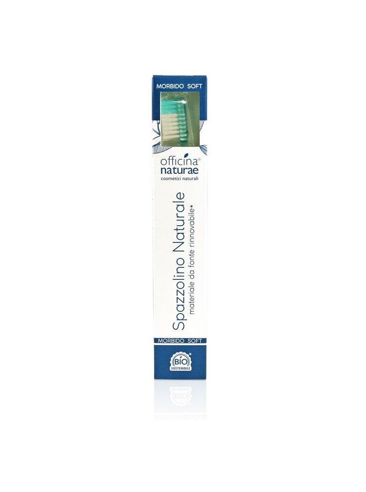 Officina Naturae Eco-friendly zubní kartáček Soft zelený 1 ks
