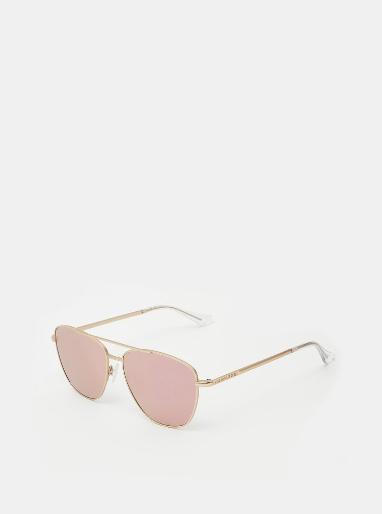 Dámské sluneční brýle v růžovozlaté barvě Hawkers Karat