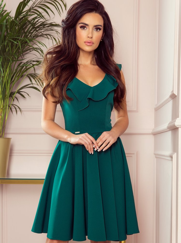 Zelené šaty numoco