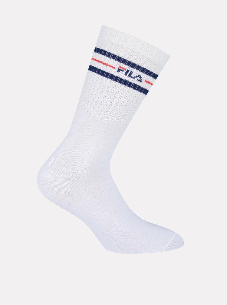 Sada tří párů ponožek v bílé barvě FILA
