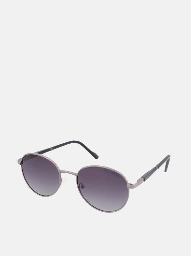 Sluneční brýle ve stříbrné brýle Crullé