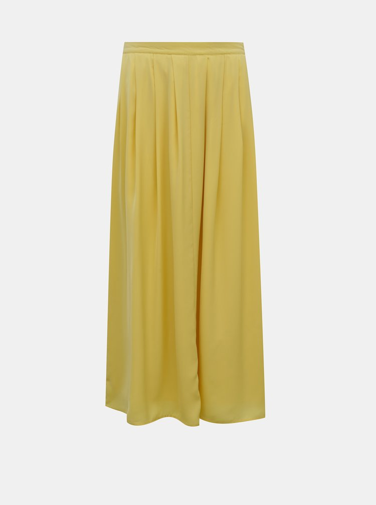 Žlutá midi sukně ONLY Sue