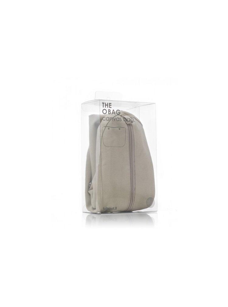 O bag vnitřní plátěná taška natural