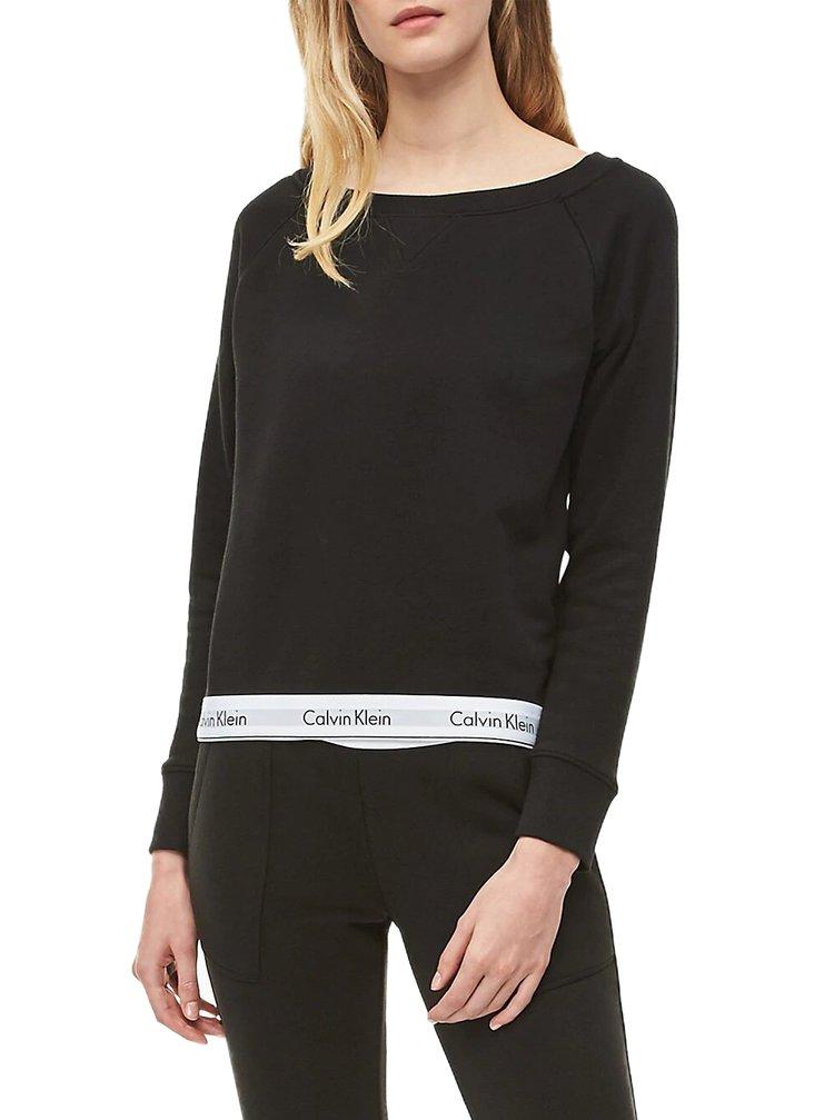 Calvin Klein černá dámská mikina Top Sweatshirt Basic